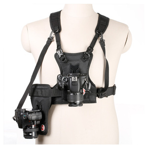 Ulanzi Carrier II Multi Dual 2 Camera Carrying Chest Harness System Vest Quick Strap with Side Holster for Canon Nikon Pent