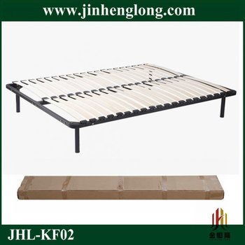 Assembly Wood Slat Bed Base