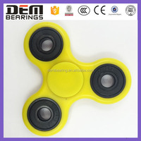 High speed multi color EDC tri Hand Spinners 3d printer Fidget Toys with ceramic 608 bearing