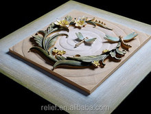 Fashion calligraphy for resin relief painting Keep in Heart
