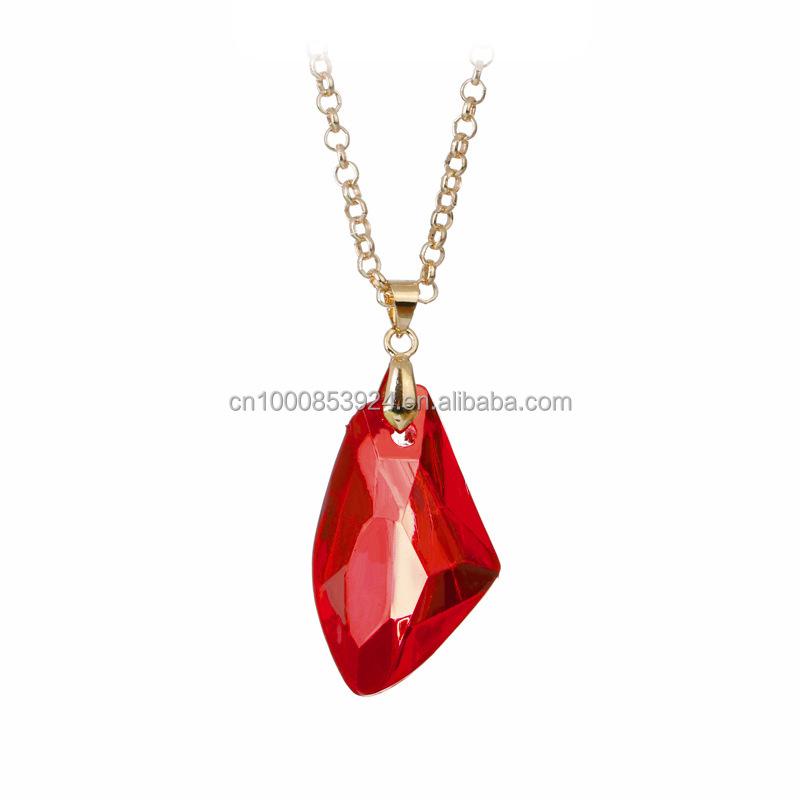 Pendentif rubis rouge