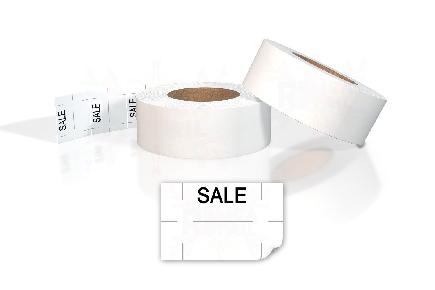 Primark P16 2 Liner Labels White