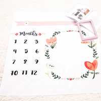 Hot new products prop milestone blanket photography newborn baby monthly
