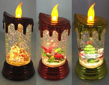 plastic acrylic led christmas decorative candles - Led Christmas Candles