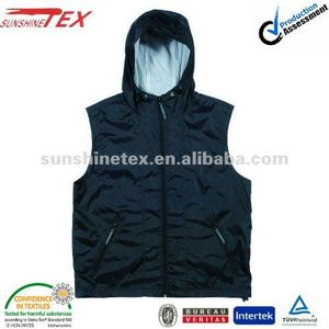 Men's denim work vest(VM-0814)