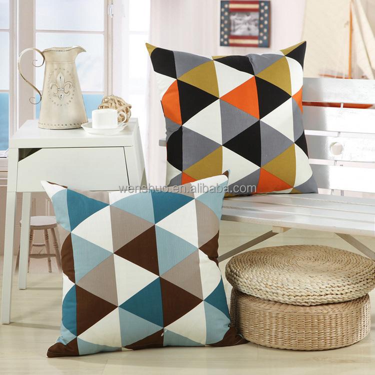 Wholesale Home Decor Back Cushion Car Pillow
