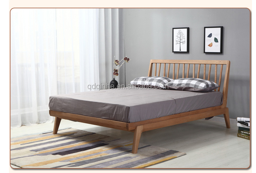 Japanese Style Solid Wood White Oak King Size Bed Frame Buy