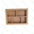 Bamboo Kitchen utensil storage drawer organizer cutlery tray