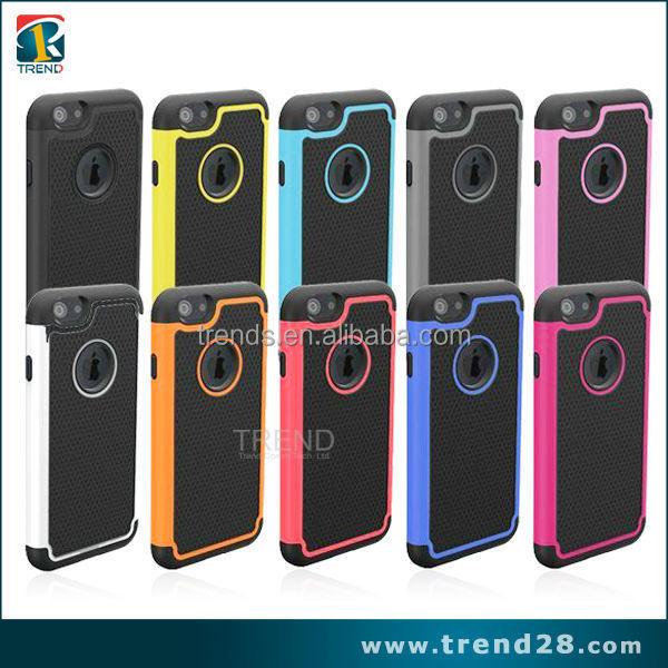hot outdoor design pc+tpu combo case for iphone 6 6s