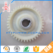 Colorful wear resistant plastic injection gear wheel