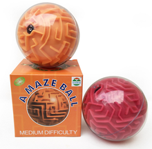 3D Game Magical Intellect Maze Ball Maze Ball magical Intellect Ball Children's Educational Toys Baby Puzzle Toy