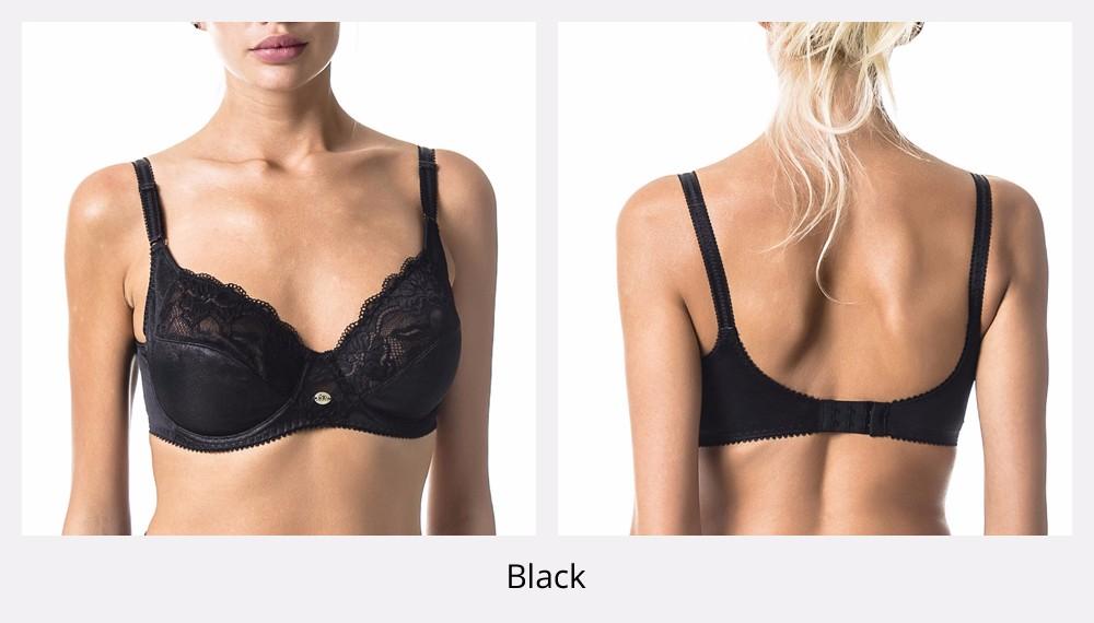 5a225b0f22 Detail Feedback Questions about Women s Bra   Brief Set BH Black ...