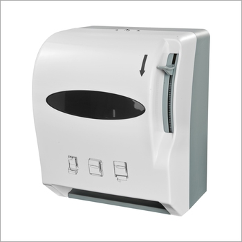 Commercial Kitchen Hand Roll Plastic Paper Towel Tissue Dispenser