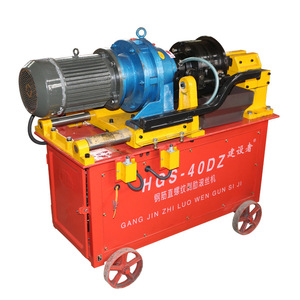 China supplier hydraulic rebar thread rolling machine for sale
