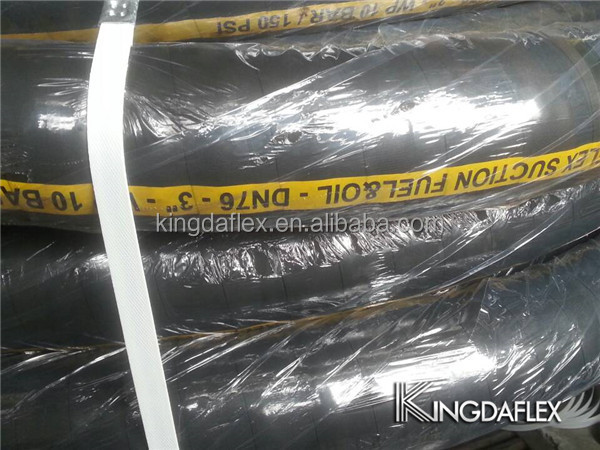 Shandong Manufacture High Pressure Canvas Rubber Reinforced Hose ...