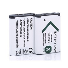2* 1600mAh NP-BX1 NP BX1 Camera Battery / batteries For Sony DSC-RX100 RX100 HDR-AS15 free shipping