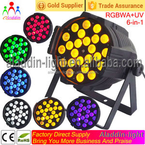 24x18w rgbwuv 6in1 zoom led stage light +LED spot light*professional laser stage light*