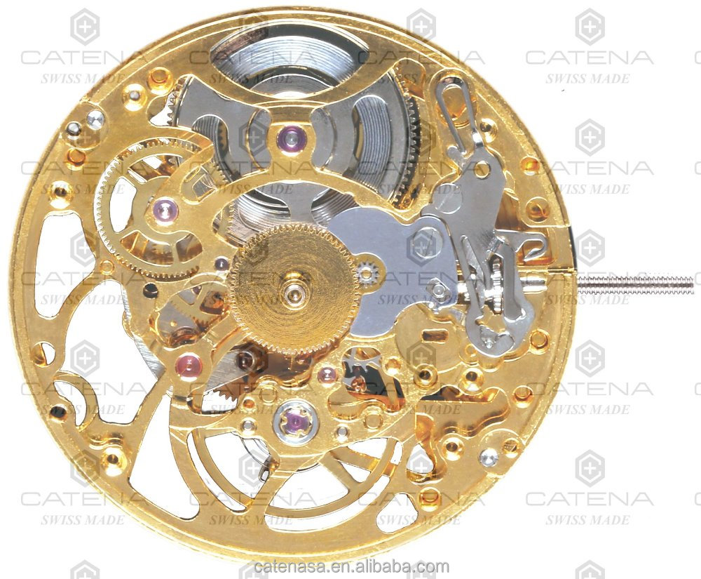 Catena SA800 movement Swiss made Automatic Mechanical watch movement