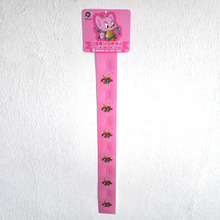 Supermarket Hanging Display Hang Strip Plastic Clip Strips PP Plastic Display Clip Strips