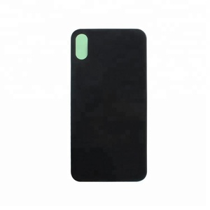 Black/white mobile phone housing back cover glass for iphone x