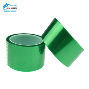 Welcome to consultation 0.08mm green polyester pet high temperature tape