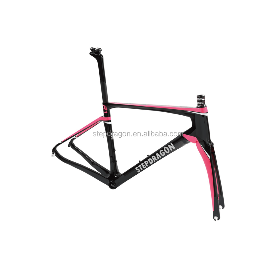 Wholesale Carbon Bike Frame / Carbon Road Bicycle Frame (41/45 /47/50/53/56/59 cm)