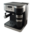 New Design Professional LED display combination drip coffee and espresso machine table top coffee machines coffee extraction