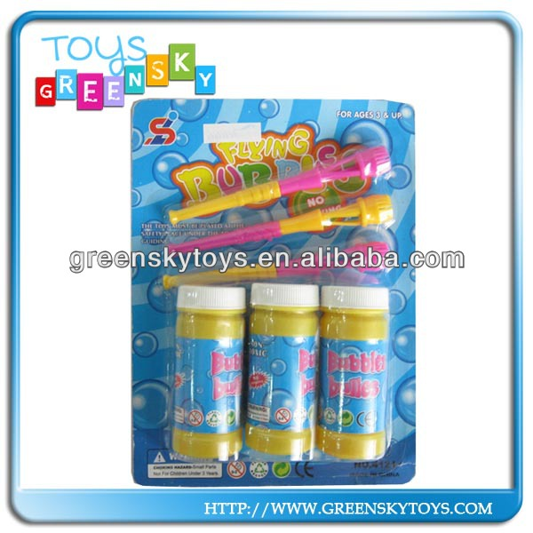 Wholesale summer outdoor bubble set--Magical blowing bubble water toys set
