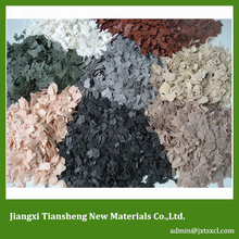 granite marble effects composite flake water-based environmental friendly high-molecular QS-F1