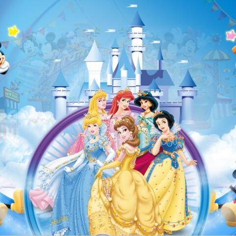 Disney Princess 3d Wallpaper