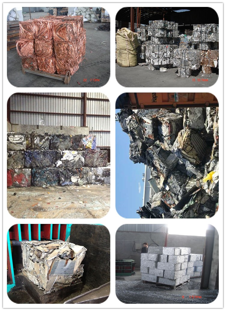 scrap metal recycling compactor for sale
