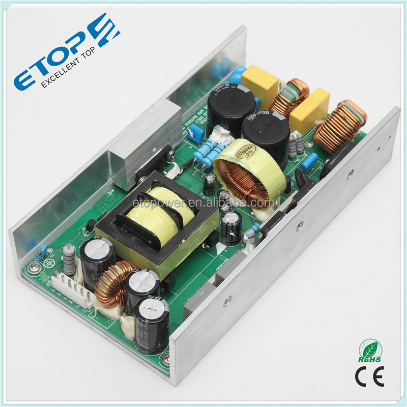 High Quality 350w Transformer 220v To 12v 24v 48v AC DC Open Frame Power Supply / Smps / Led Driver For Stage Lights