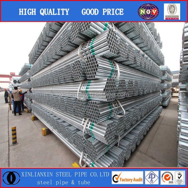 "1.5 inch galvanized pipe (1 1/2"" gi pipe) with trade assurance"