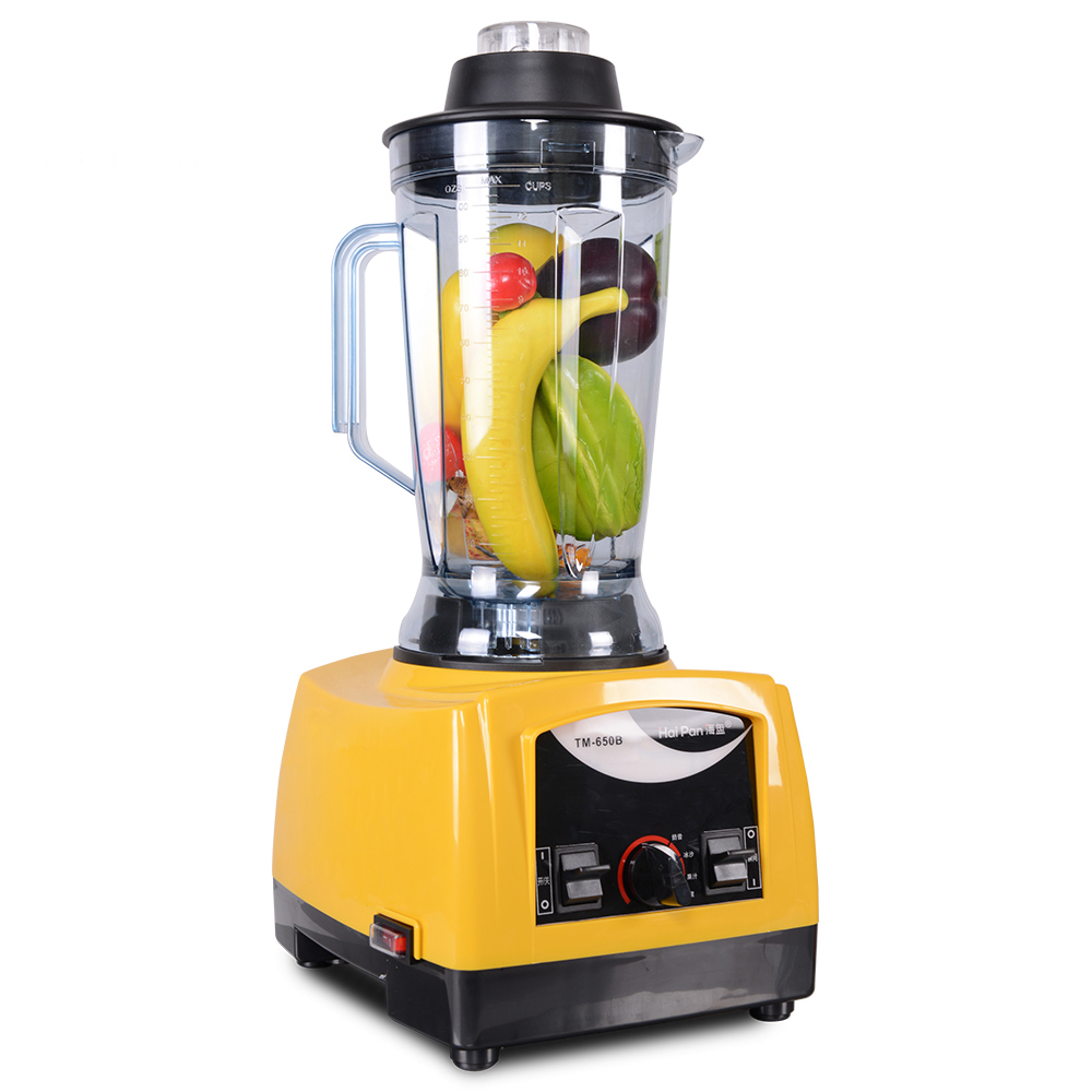 3000CC 1500 W Minuman Es Mesin TM-650B Komersial 2HP Smoothie Blender