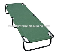 Outsunny Folding bed Military-style Camping Cot grey
