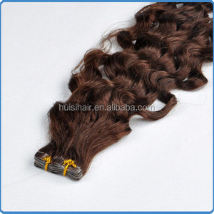 Latest coming products most popular in alibaba full cuticle last long tape hair various textures