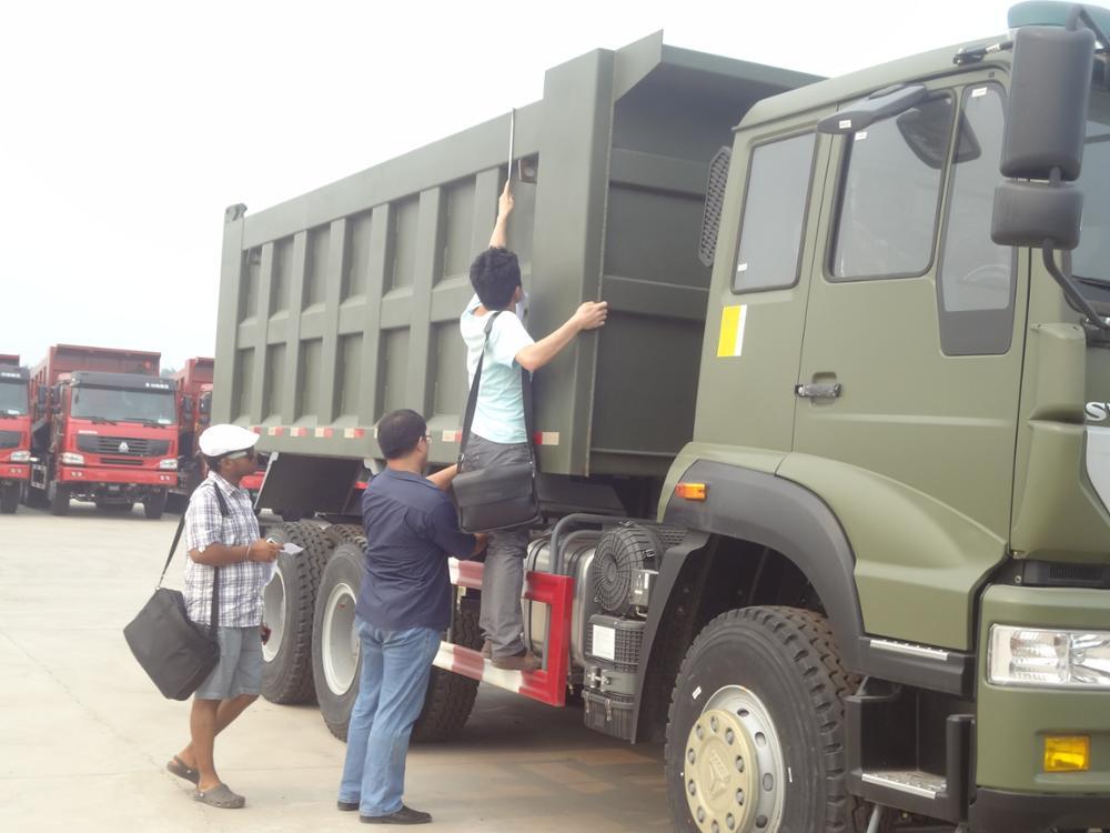 HOWO 50 t खनन डंप/टिपर ट्रक