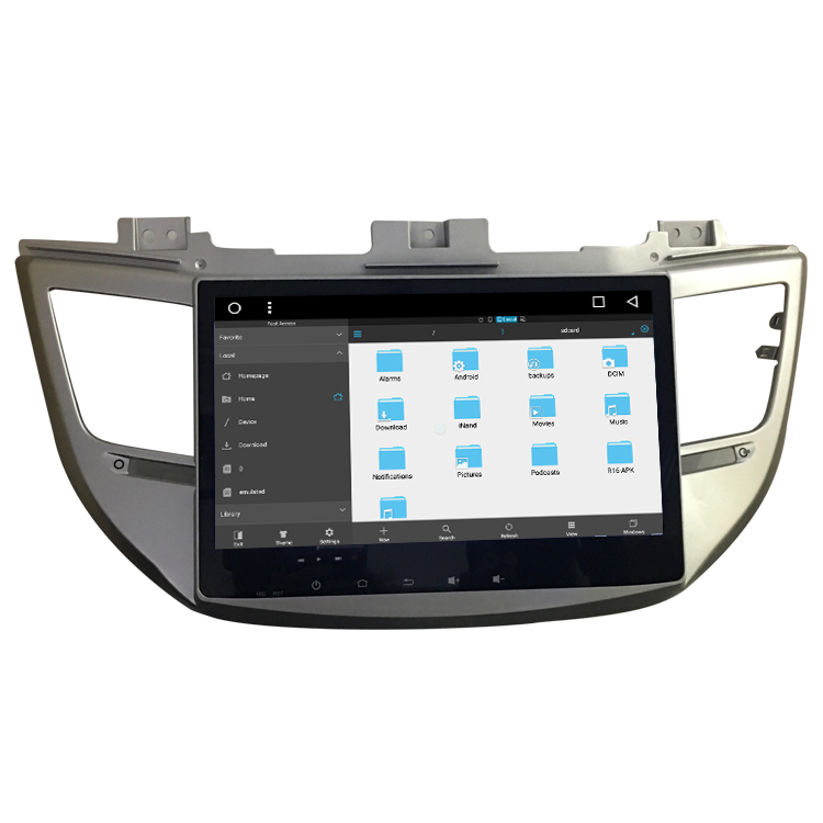 Octa-core Bosstar TUCSON/IX35 2015 Auto head unit Video-player Reine Android-System mit GPS Navigation WIFI Download DVD
