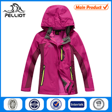 Outdoor Waterproof Girl's 3-in-1 Jacket