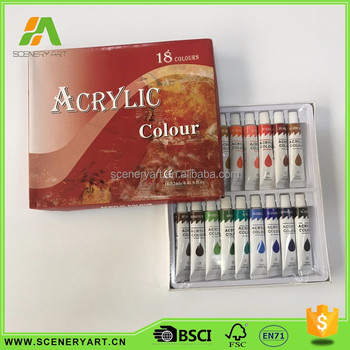 Grade a different kinds of bulk wholesale artist supplies for Acrylic paint in bulk