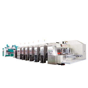 flexo printer slotter die-cutter stacker machine for sale