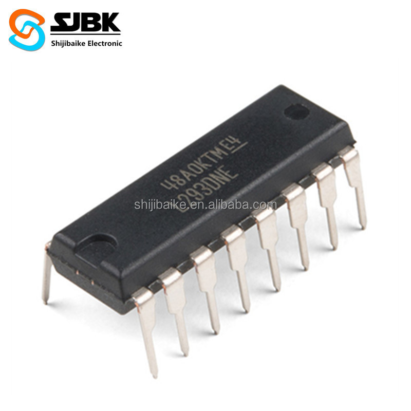 Electronic Components L293DNE Push-Pull Four Channel Driver With Diodes IC Chip