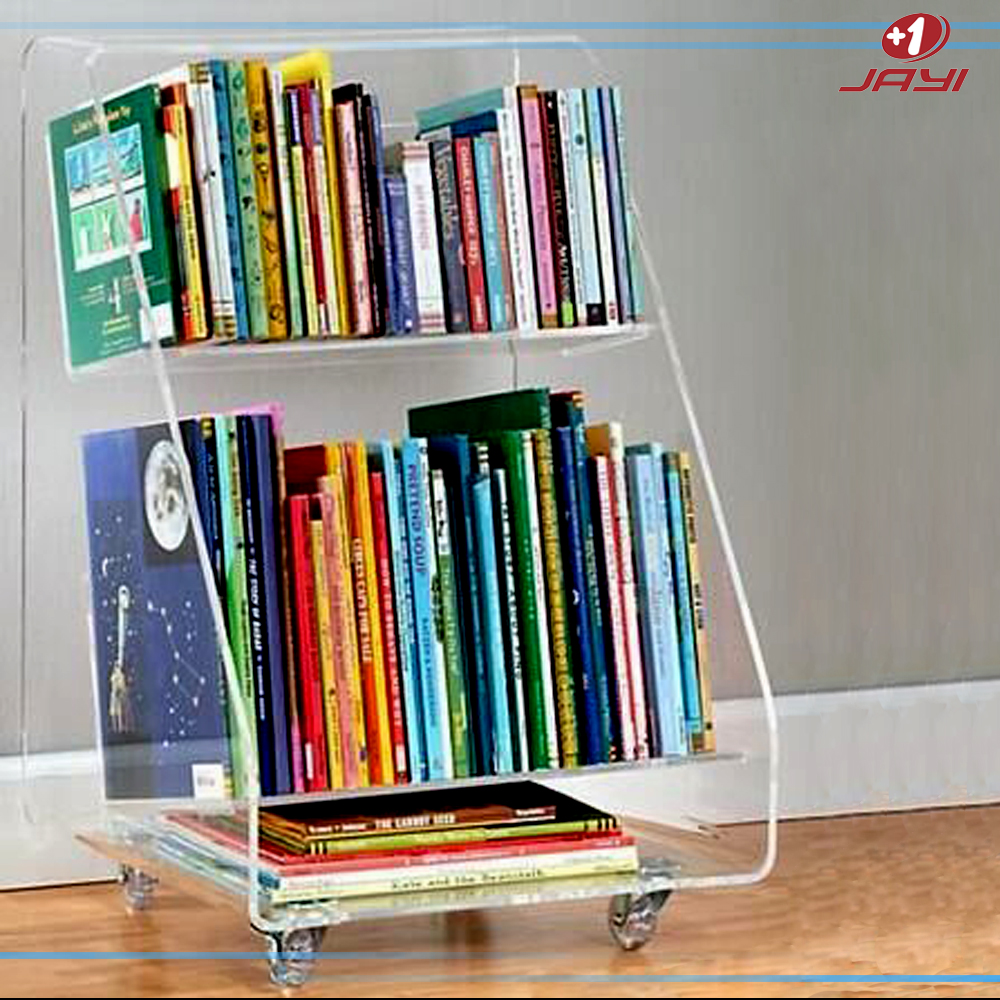 Clear acrylic hanging wall cube shelves 30x30x20 lucite for Portable book shelves