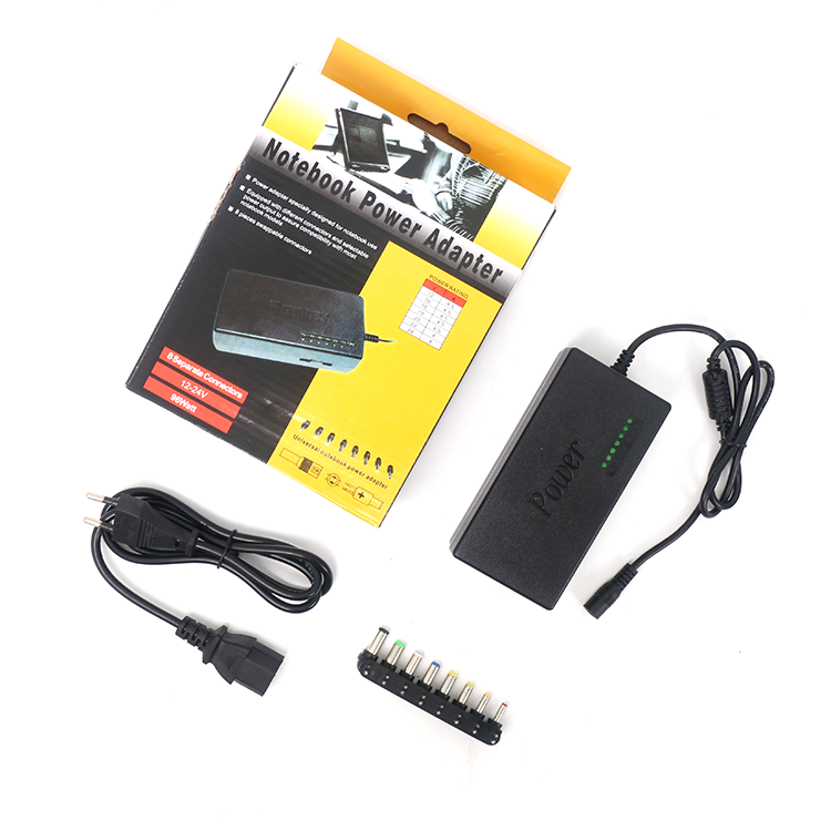 Universal replacement adapter 96w voltage adjustable laptop power adapter