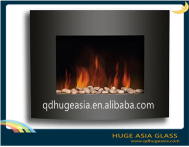 Heat Resistant Transparent Material 3mm 4mm 5mm Fireplace Glass Door Buy Resistant To High