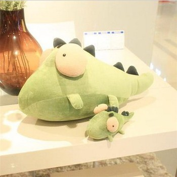 Buy plush cute cheap stuffed green cool animals collection soft toy for baby boy