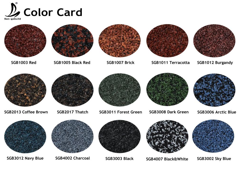 Sangobuild Stone Coated Metal Roofing Tile Steel Types Of