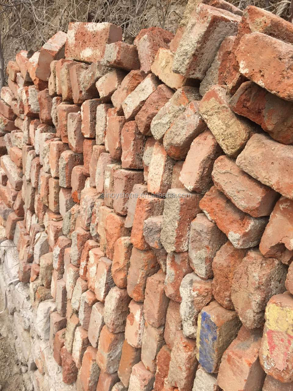 Red Clay Bricks : Old clay bricks buy red