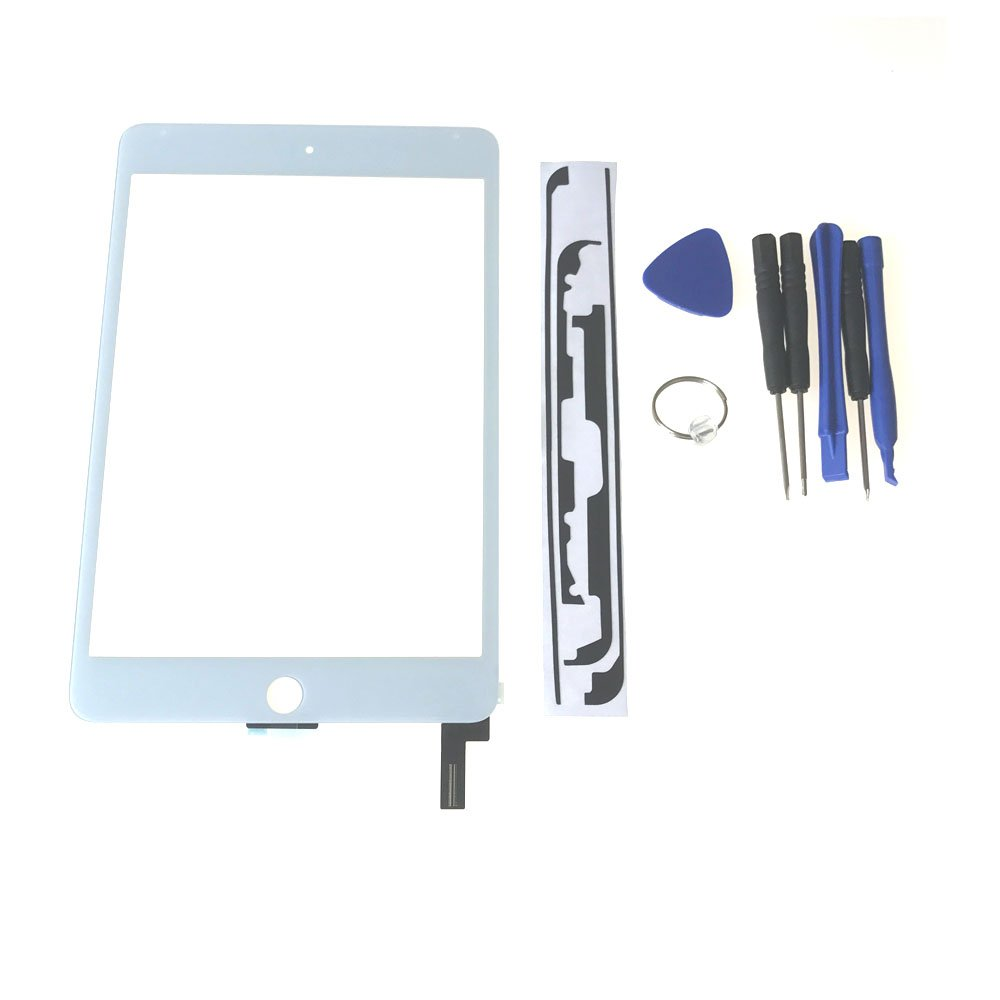 Ipad Mini 4 Touch Screen Glass Lens Replacement -New OEM Touch Screen Glass Lens Replacement For Ipad Mini 4 ,Touch Screen Glass Panel Repair Part For Ipad Mini 4 White Tools High-Resistant