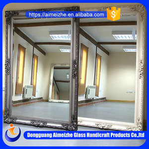 Professional manufacturer supply various types of wall decorative mirror sheet